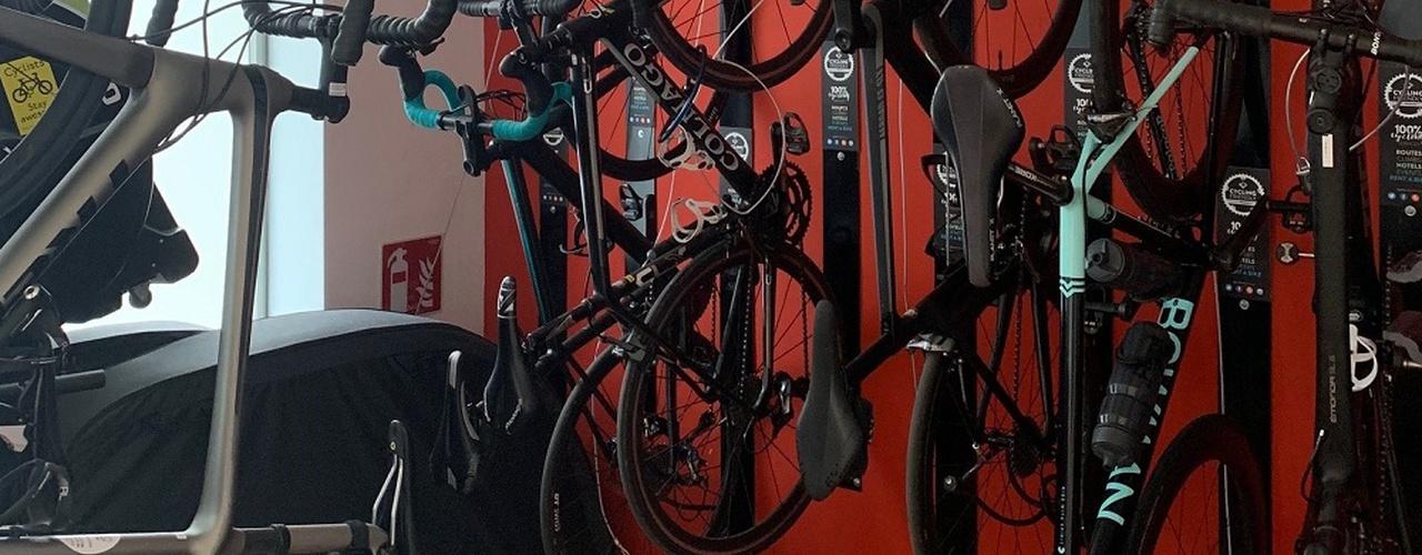 Salle de vélo Hôtel Eolo