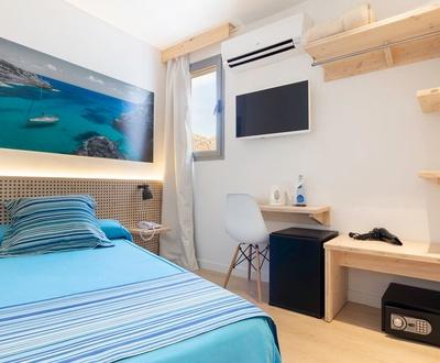Chambre individuelle Hôtel Eolo